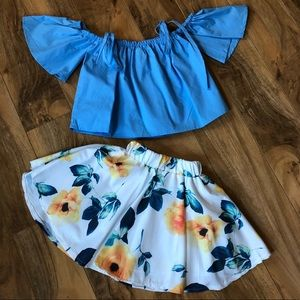 Cutest. Outfit. Ever💛😍💙Size 2T